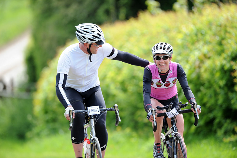 Squires and Spires Cyclosportive